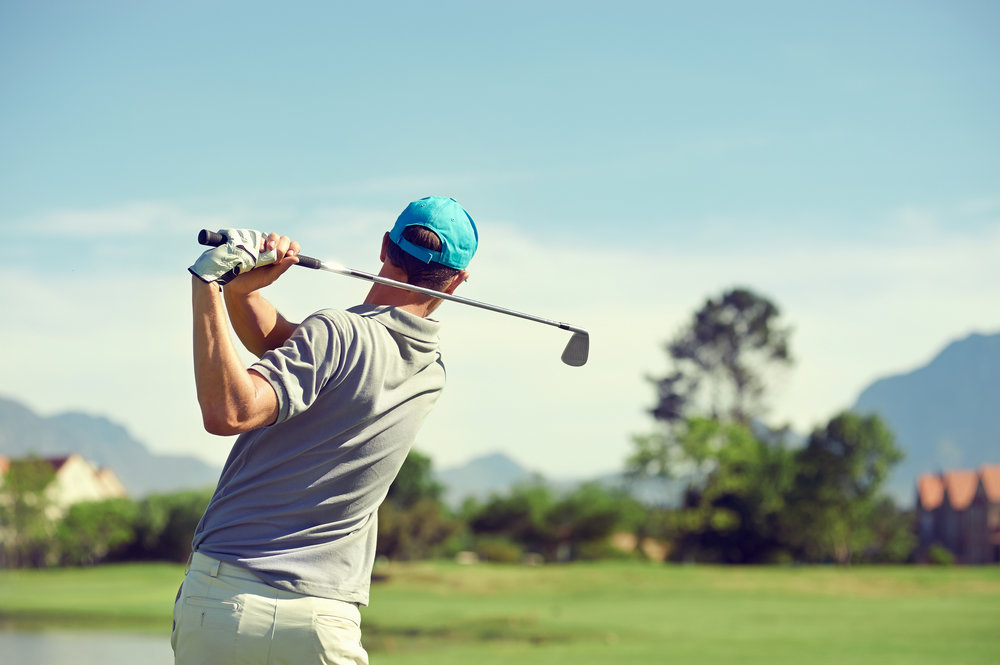 Your personal fitness level has a big impact on your stroke technique and the length of your drive. Of particular importance in meeting the requirements of a long round of golf is a strong back and conditioned spine.