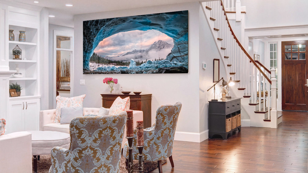 Ice Cave With A View in dinning room