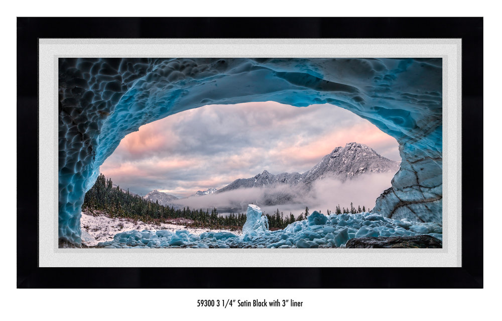 Copy of Ice Cave With A View in a frame