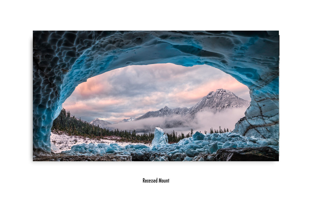 Copy of Ice Cave With A View in no frame