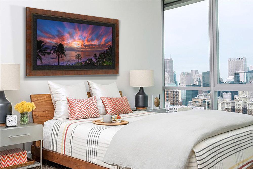 Kelekona Keha in an urban bedroom