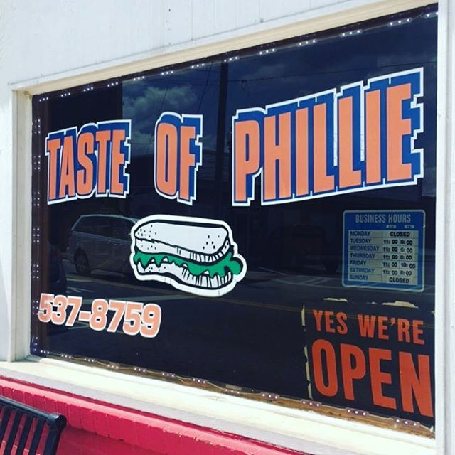 When you're in Vidalia-don't miss out on this. #bestcheesesteakinthesouth #tasteofphillie #getinmybelly