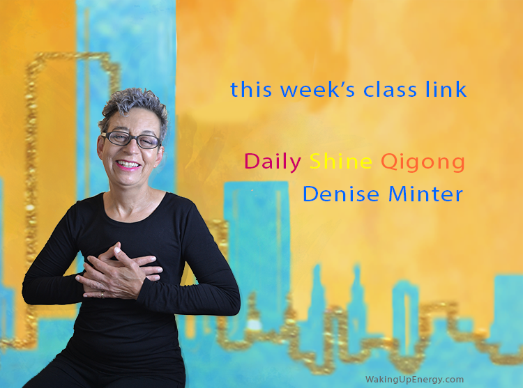 Step 1|Watch your class live - Click on the red button above to join during the live class.Weekdays: MONDAY - FRIDAY 8 am - 9 am/pacific timePlease note that you will only be able to join a live class after Denise Minter opens the classroom.
