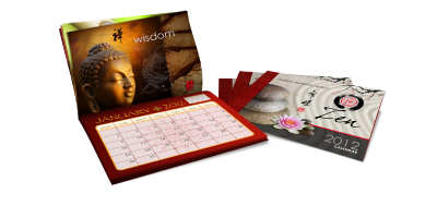 Calendars - Calendars are a popular tool for keeping your brand or message in front of your customers month after month. Often focused more on design than text, Calendars showcase one month at a time along with your chosen image or message.