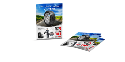 Small Flyers - Small Flyers are flat promotional printed products that are smaller than our standard flyers. They are a popular and convenient size for distributing promotional material.