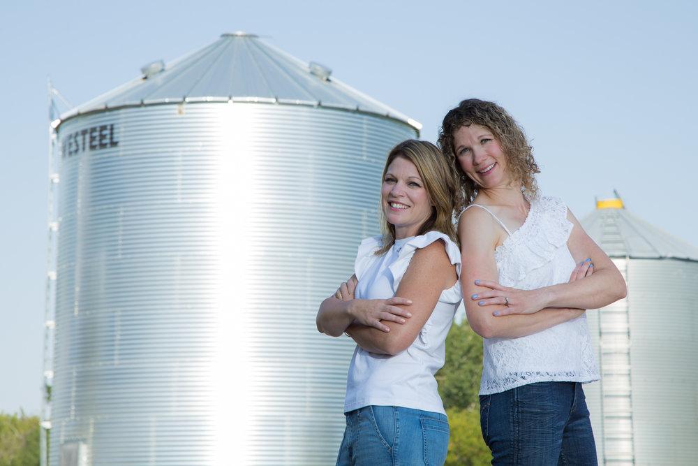 The Ws of FarmFemmes: Karen Hildebrand and Teresa Vallotton at Vallotton Farms