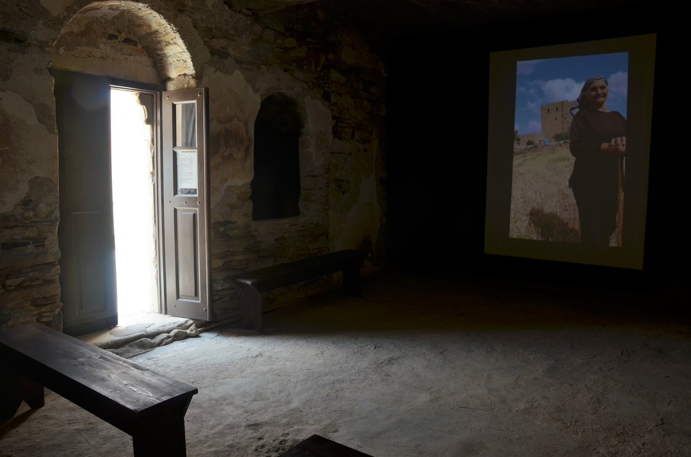 Copy of Installation view, Earth is a she