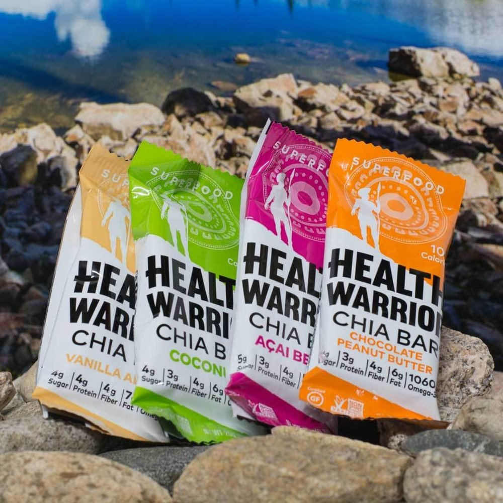 Health Warrior Chia Bars -