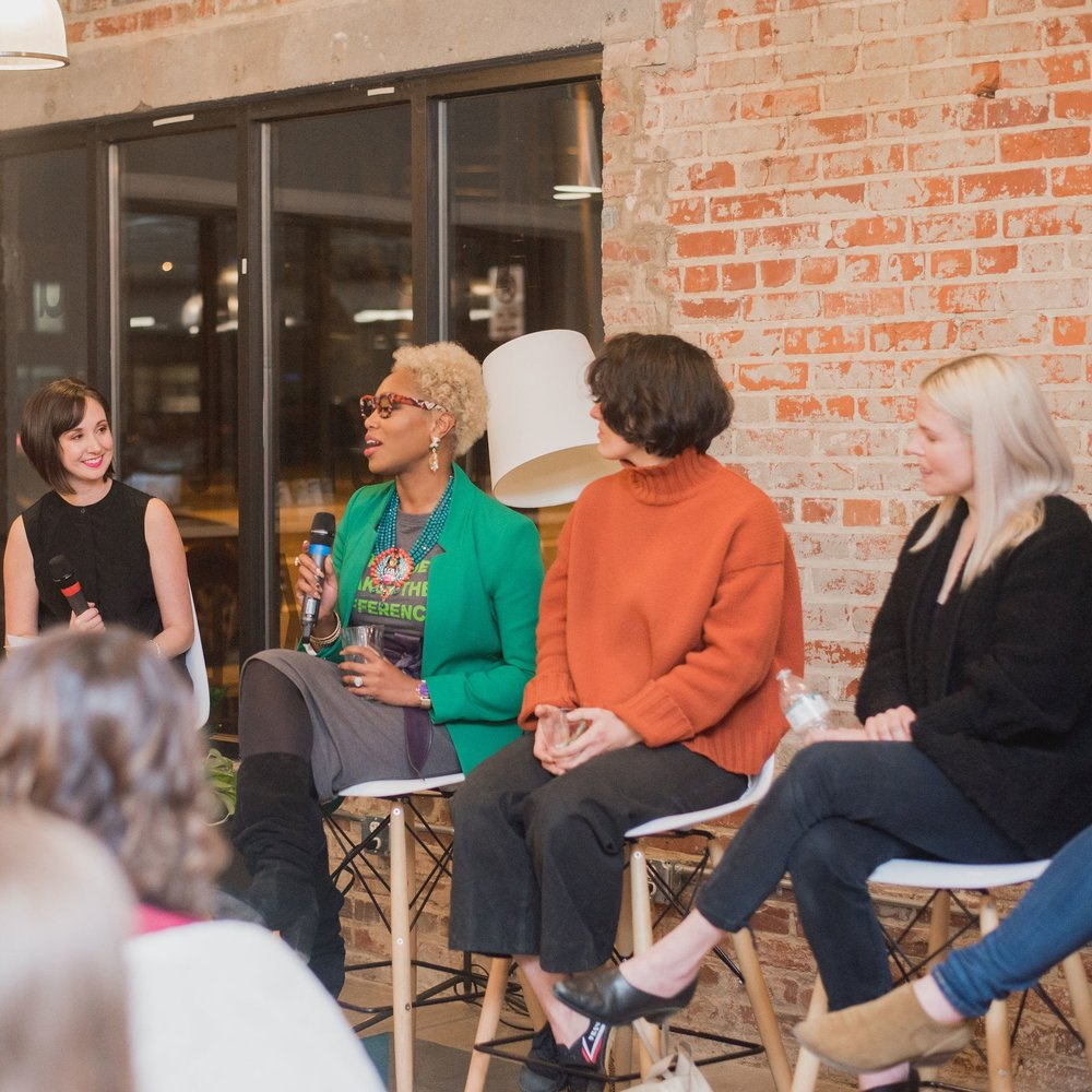 february 19 - Panel - The Women In Retail Location: Gather Scott's Addition
