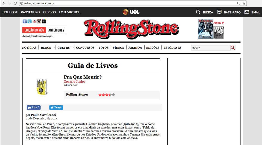 Rolling Stone São Paulo – 28/12/2017