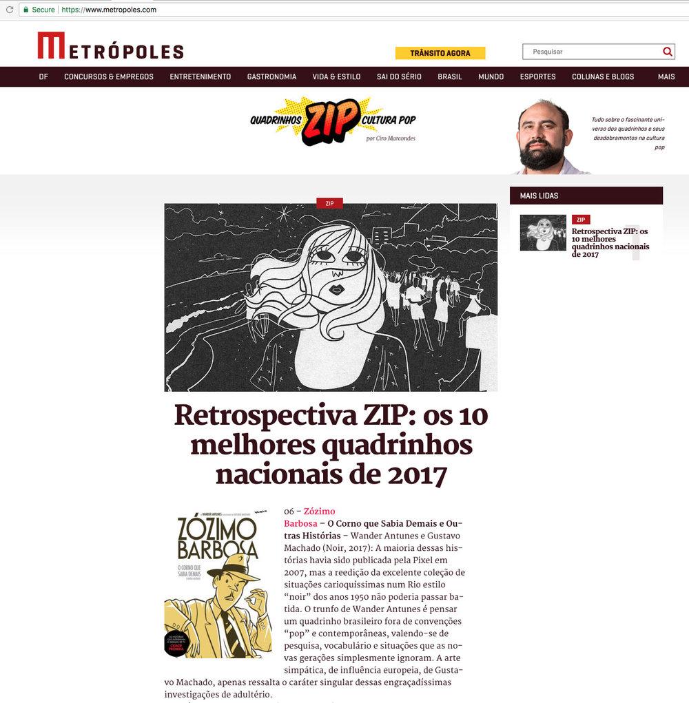 Metrópoles  São Paulo – 1/1/2018