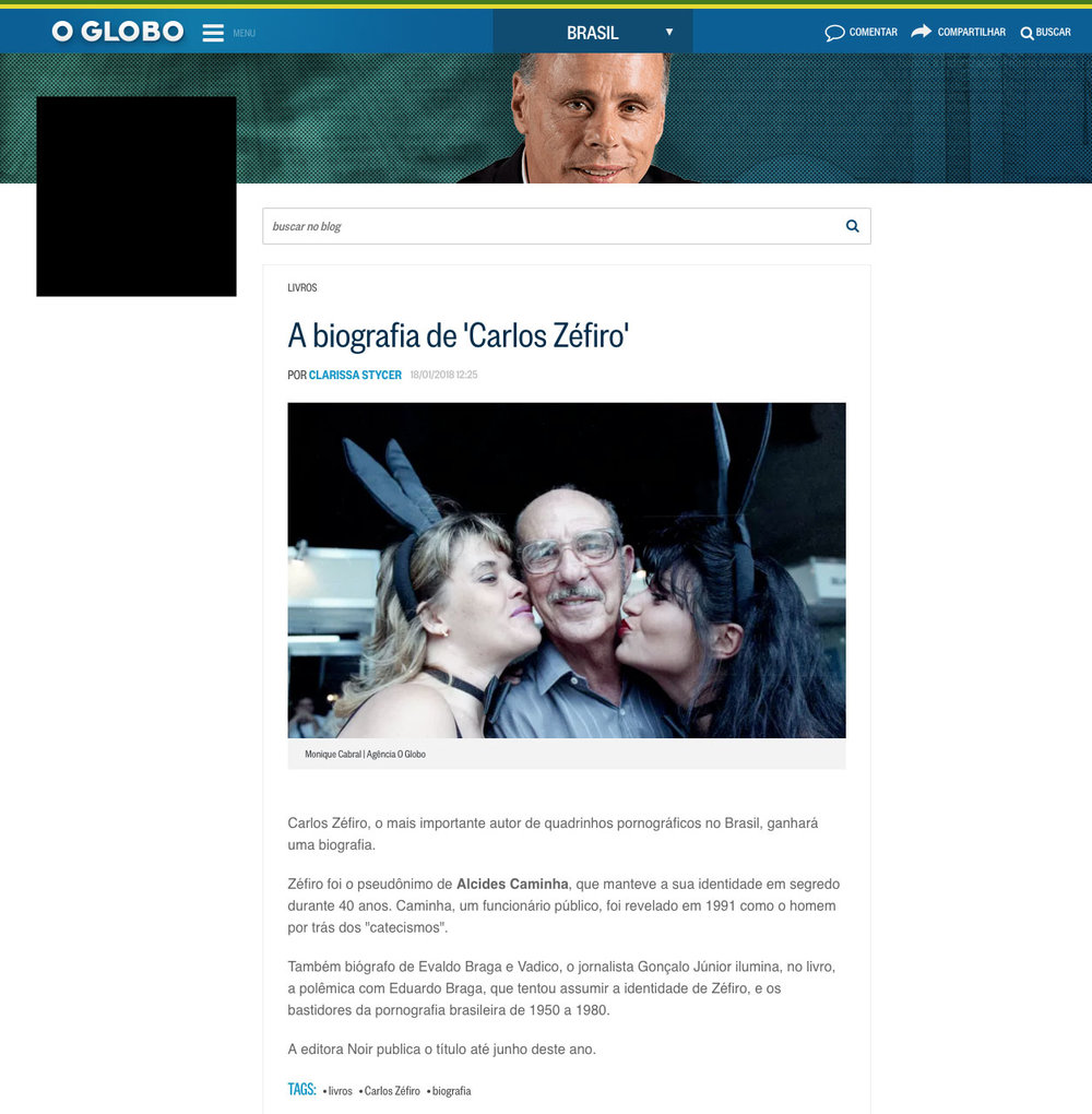 O Globo  Rio de Janeiro – 18/1/2018