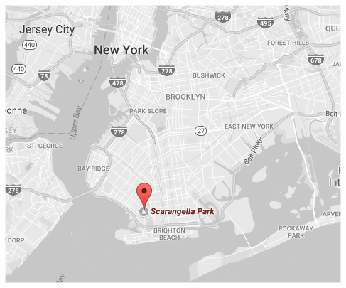 Click for Directions via Google Maps // Scarangella Park - Gravesend, Bk.