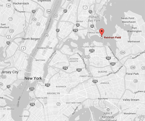 Click for Directions via Google Maps // Maritime College - Throgs Neck, Bronx.