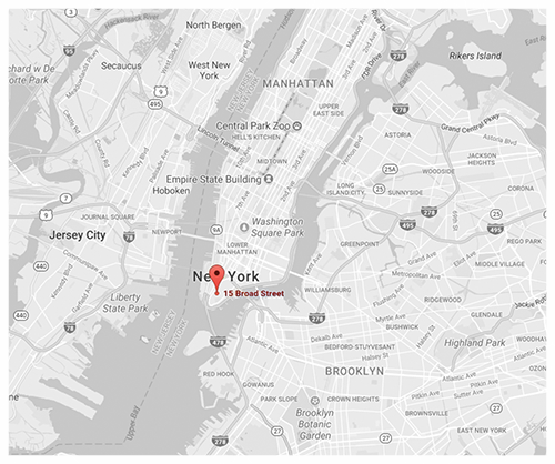 Click for Directions via Google Maps // The Downtown by Starck, Manhattan.