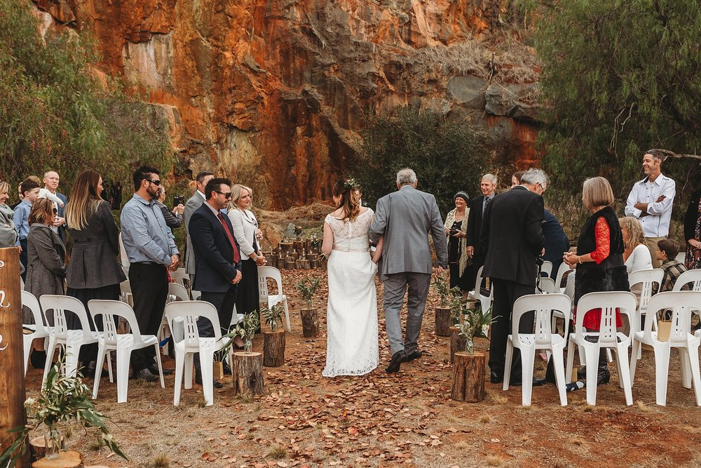 dookie quarry wedding photographer