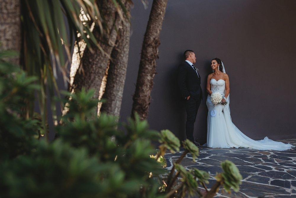 bride and groom at brighton savoy