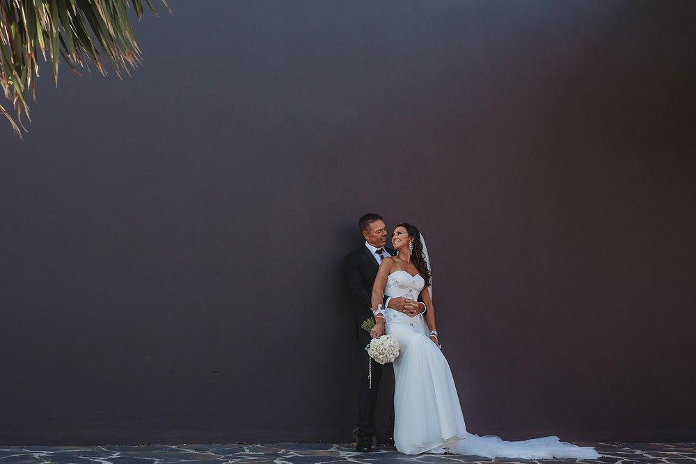 bride and groom in brighton victoria