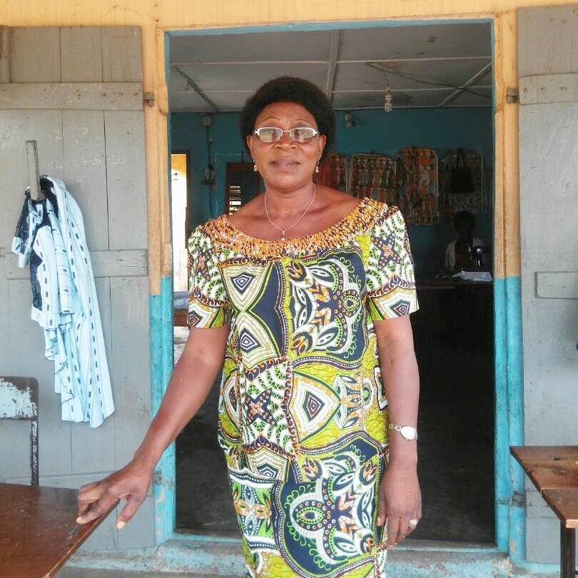 Madam Manou Chief Seamstress of S H E -Togo