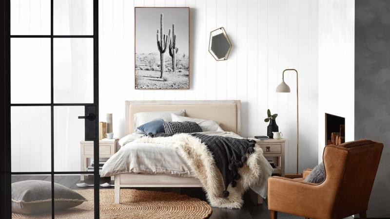 Winter bedroom bliss: ideas from an interior designer - 'Tis the season to pack on the layers, get comfortable and settle in for the cooler months. Now is the perfect time to whip your bedroom into shape and create a cosy and intimate space you can't wait to get into at the end of the day...