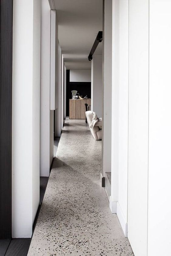 Residential terazzo flooring, Frederic Kielemoes