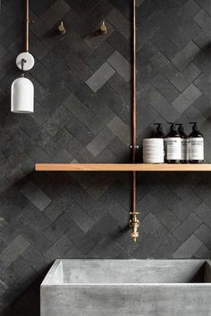 Kylie Monteleone_Spacedresser_Palette Store_Urban Luxury_Bathroom herringbone wall.jpg