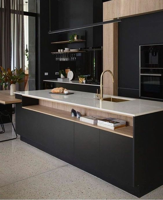 Kylie Monteleone_spacedresser_Palette STore_Urban Luxury_black kitchen.jpg