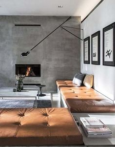 Kylie Monteleone_Spacedresser_Urban Luxury_Living room leather custom cushions.jpg