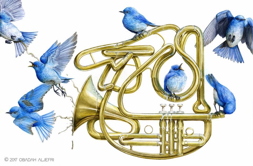 Illustration by Obadah Aljefri | obadahaljefri.com |  @artbyobadah
