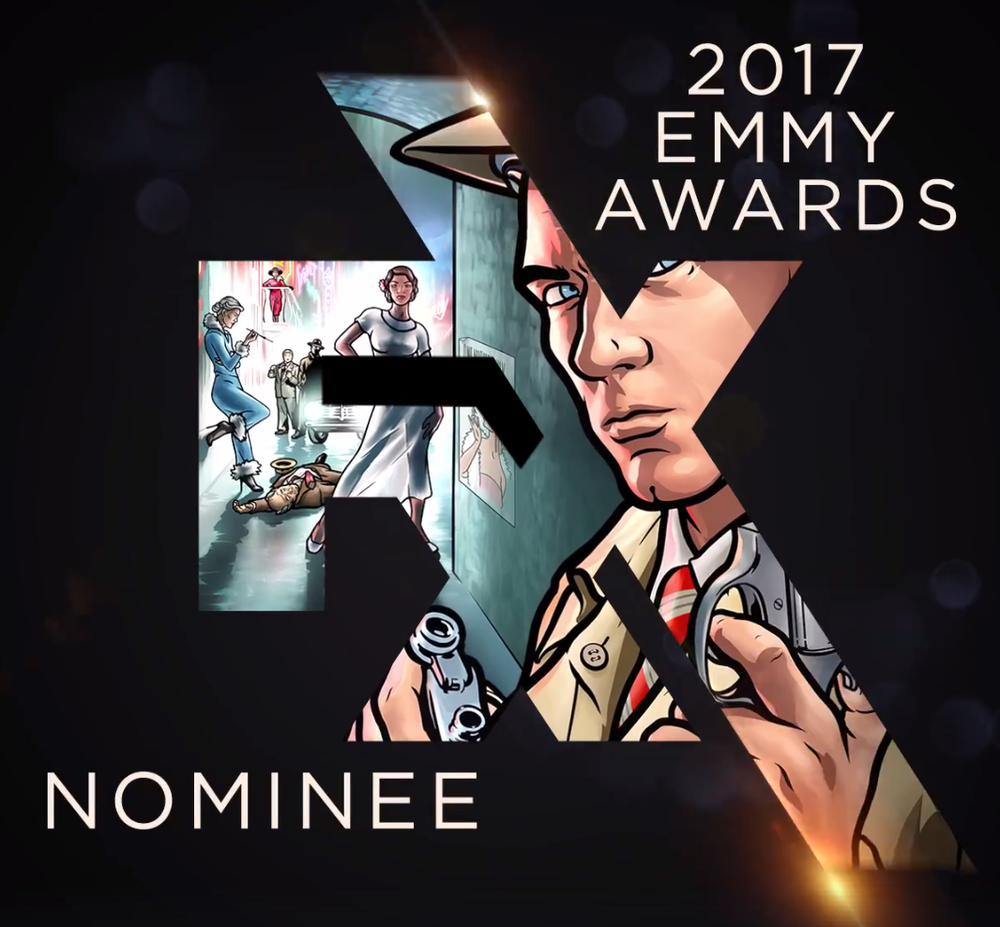 2017 Emmy nomination •  facebook.com/nargesartcom