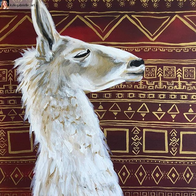 From @kyliegabrielle_art #shoutout 😍 🔥 . Check her profile for the full picture ♥️♥️ 👀🙏 . #peru #travellingartist #artistwilltravel #gotravel #explore #thewanderer #emergingartist #peoplescreatives #creativelifehappylife #creativeliving #femaleartist #paintingoftheday #acrylicpainting #llama #artoftheday #atx #atxart #atxartist #austin #austinart #austinartist #texasartist