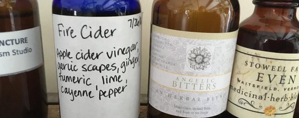 Fire Cider and the Winter Herbal Medicine Cabinet — MagicOma