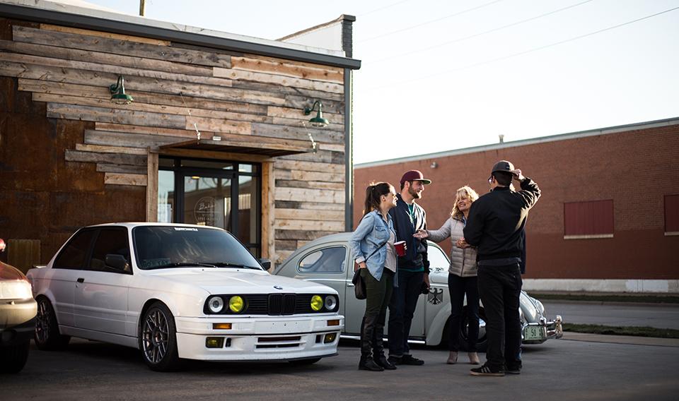 Baker Garage / Volvo Specialists — Denver's Art District on Santa