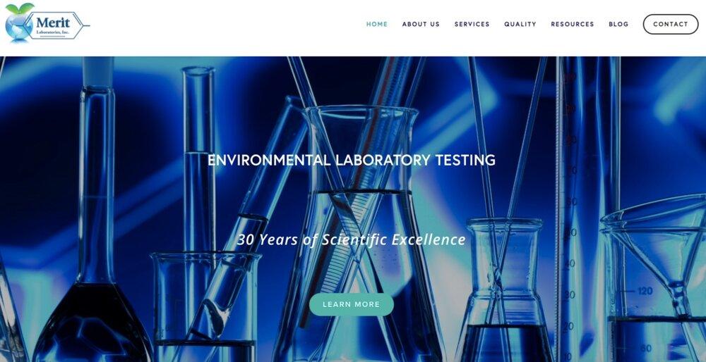Merit Laboratories, Inc.  |  Website Design, Content, SEM, and SEO