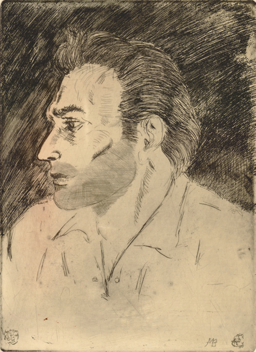 Portrait of Robert LoPresti. 1962.