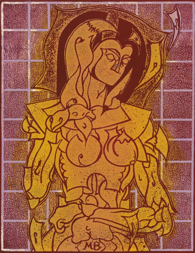 Standing Nude. 1968.