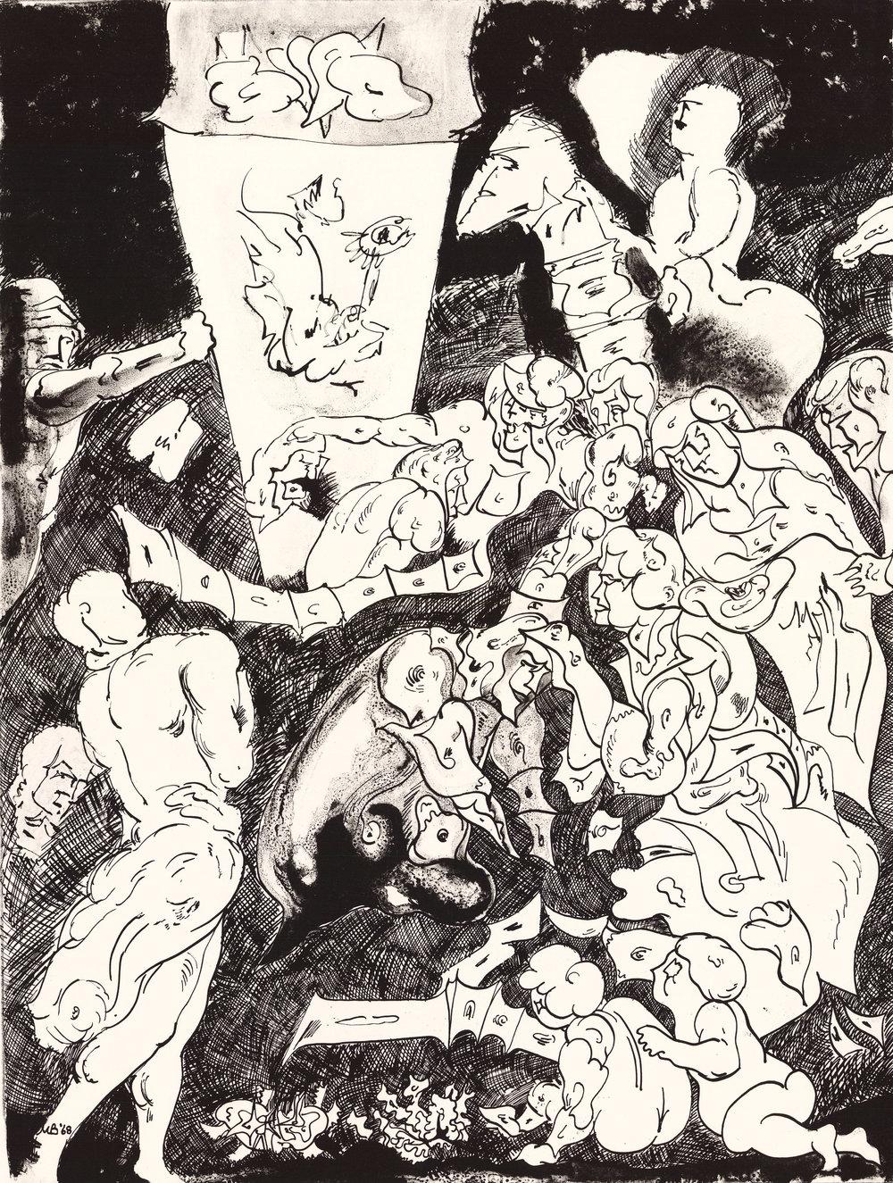 To Rubens. 1968.