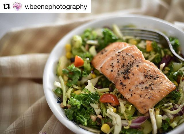 @v.beenephotography always comes up with the most delicious looking recipes to include our seafood! 😋😋😋 #Repost @v.beenephotography with @get_repost ・・・ When it too hot to really cook... Simple summer salad with perfect salmon! This salad is simple because I used a bag mix and added a bean and corn salad I had leftover for filler and dressing. The perfect salmon was wild caught and brought to our great @wichitafallsfarmersmarket by @red_river_salmon_runners 🐟 🍽 🐟 🍽 🐟 #wichitafalls #seatotable #shoplocal #supportsmallbusiness #freshseafood #boattofork #freshsockeyesalmon #alaskansalmon #bristolbaysockeye #wildcaught #sustainableseafood #premiumseafood #northtexas #wichitafallsfarmersmarket #redriversalmonrunners #VanessaBeenePhotography #eatrealfood