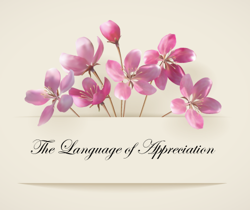The language of Appreciation