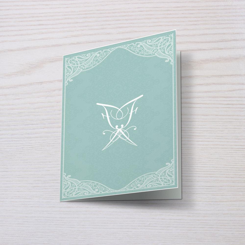 BESPOKE ENVELOPE + WEDDING CARD DESIGN