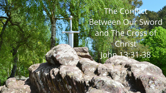 The Conflict between our sword & the cross of Christ..png