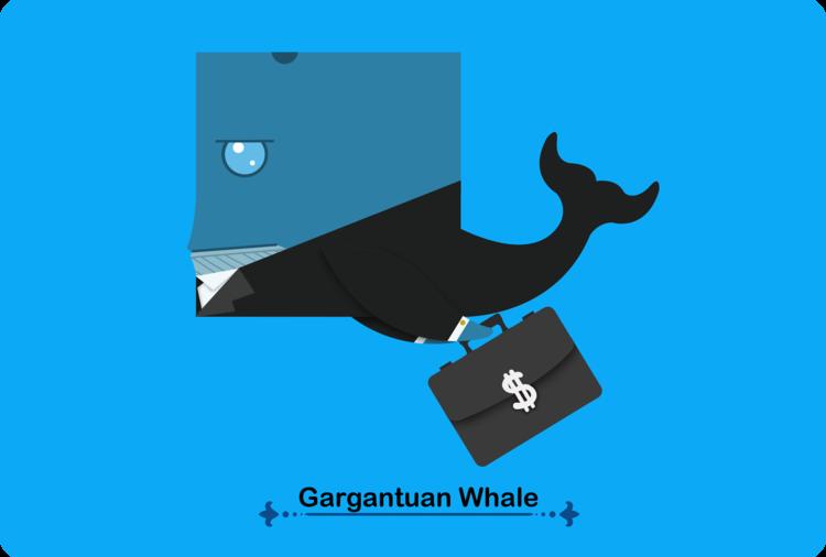 gargantuan whale
