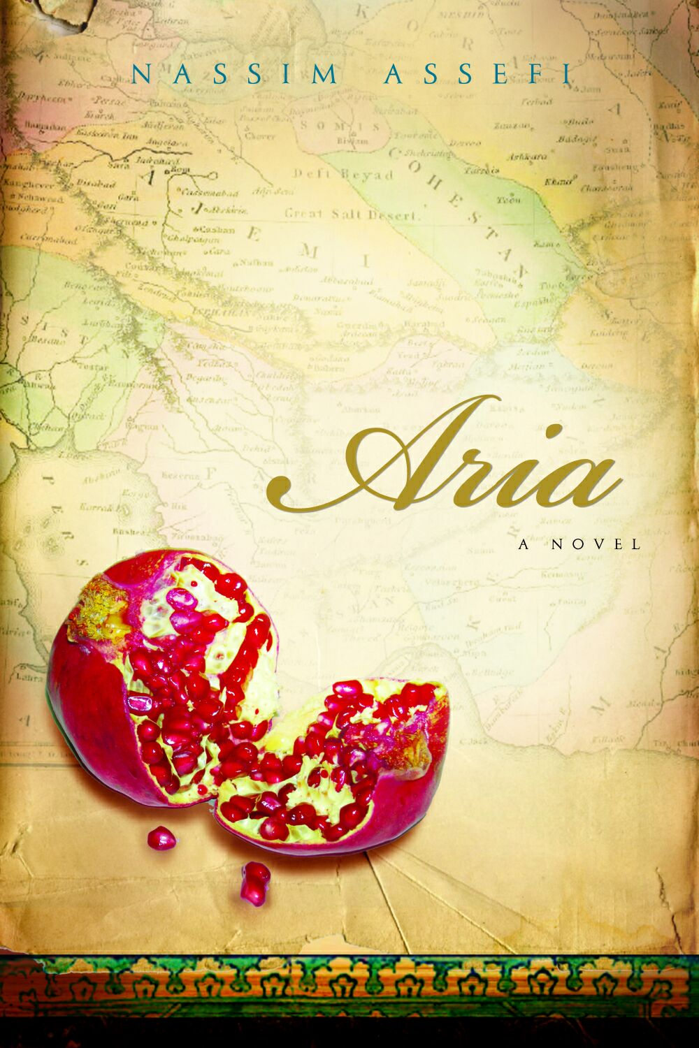 Nassim's 1st Novel, Aria - Aria was published by Harcourt in 2007 and 5 Foreign Presses (in Dutch, Persian, Portuguese, Slovene, and Taiwanese). It is currently out of print, but available digitally, on Amazon, and in libraries. Audiobook is available via Audible and ITunes.Click here for a reader's guide with discussion questions and answers.Click here for references related to themes in Aria (grief, death of a child and spouse, dwarfs, epistolary prose, mother-daughter relations, Tibet, Iran).
