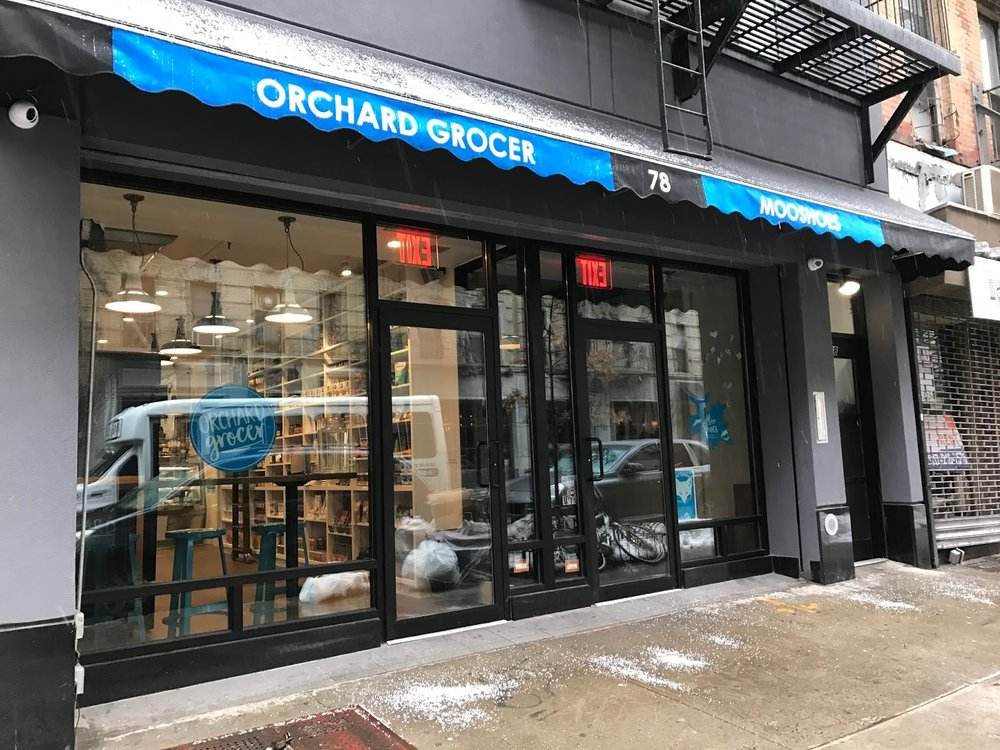 Orchard Grocer - 78 Orchard St, New York, NY 10002