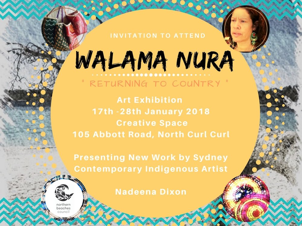 Invite Walama Nura 2018 - jpeg Nadeena Dixon Exhibition copy.jpg