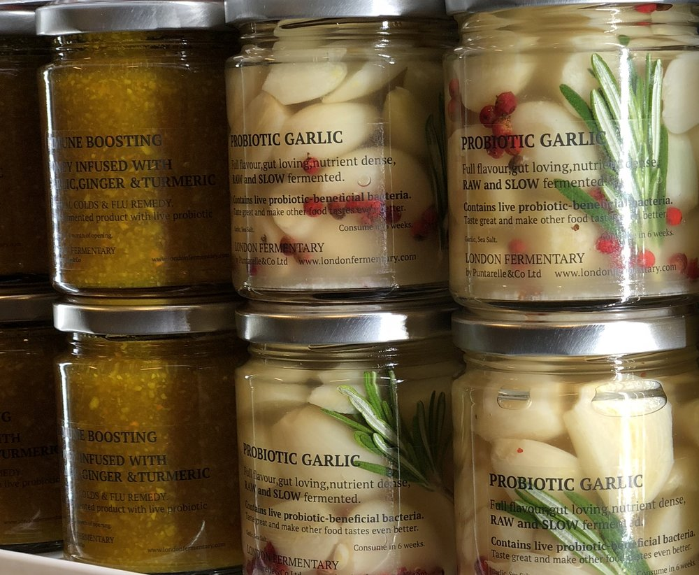 Garlic-based Ferments    Photo ©Puntarelle&Co