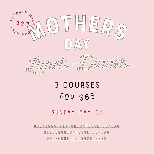 Don't forget to book legends #mothersday