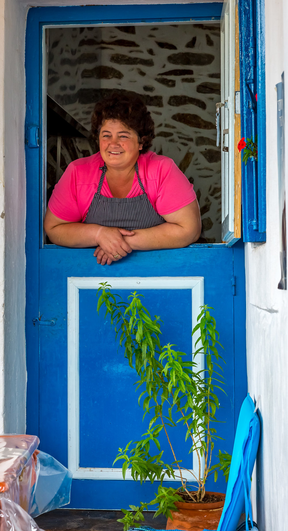 Παραδοσιακό μεζεδοπωλείο-καφενείο στην Κάτω Μεριά.