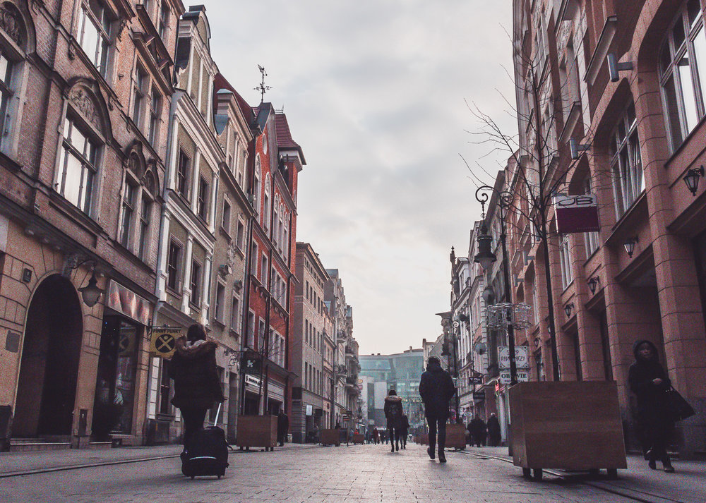 Center of Poznan