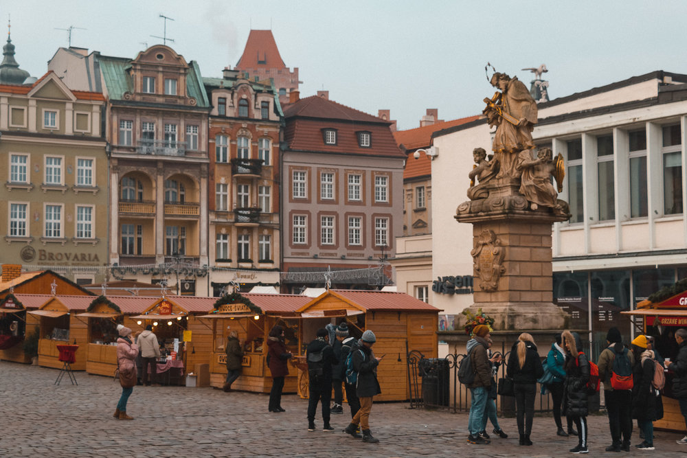 Poznan's Christmas market